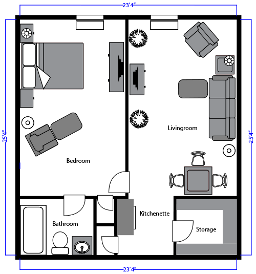 Hopedale Senior Living Room Layouts