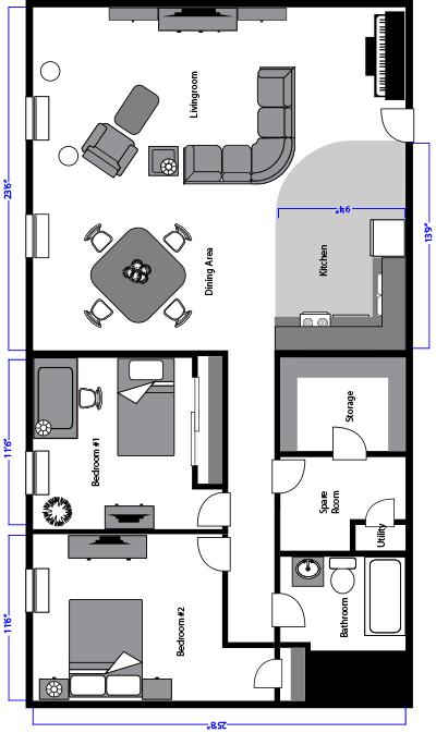 Hopedale Senior Living Room Layouts